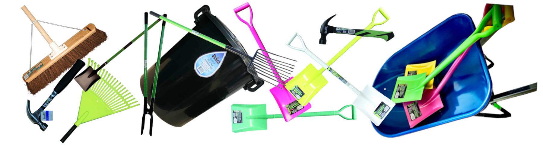 Wheelbarrows & Tools
