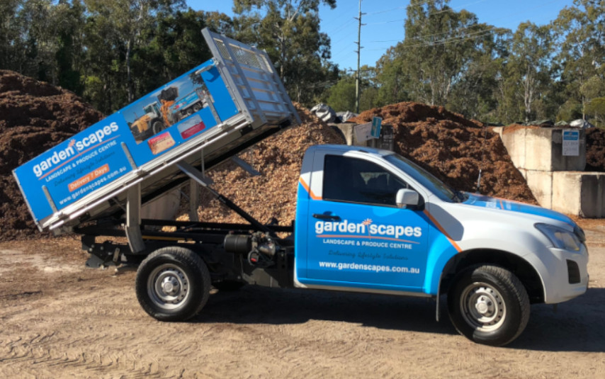 Small Delivery Handy Tipper Ute